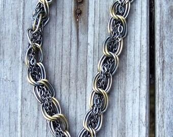 anchor bottle cap necklace