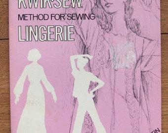 vintage 70s sewing patterns Kerstin Martensson's LINGERIE slips gowns panties bras girdles robes UNCUT sz S-M-L-XL