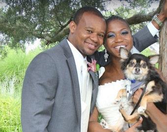 Wedding Party Bandana Gray Suit Sz XS S M