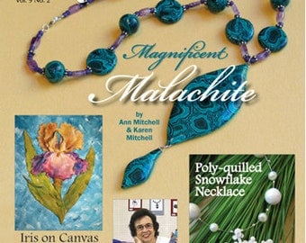 PolymerCAFE - February 2011, Tutorial, Book, Polymer Clay, Clay, Sculpey, supply, tools, Metal Clay, Jewelry