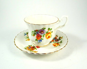 Royal Imperial of England Tea Cup & Saucer