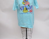 vintage tshirt RICHARD NIXON political 1980s  oversized boyfriend fit t-shirt 1980s extra large xl