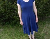 Remember Organic Cotton Jersey Knit Dress Made in the USA - Organic Cotton Clothing