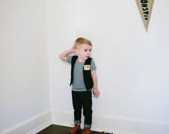 The Navy Stripe Shirt