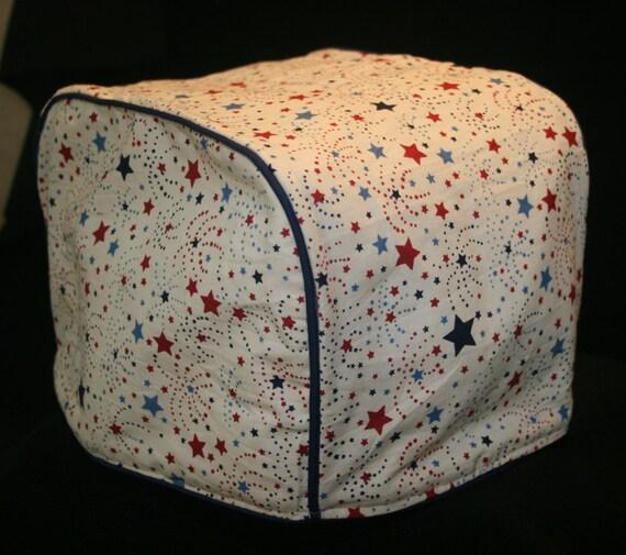 toaster cover 2 slice patriotic stars blue red. Black Bedroom Furniture Sets. Home Design Ideas