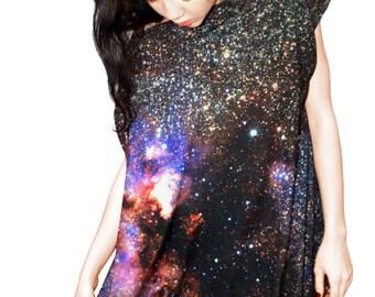 Milky Way Galaxy Jersey Dress