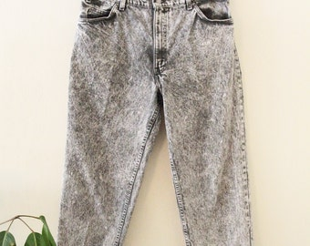 90's Levi's 550 Acid Wash Jeans