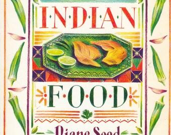 Favorite Indian Food Diane Seed 1992 Illustrator Robert Budwig Recipes Cooking