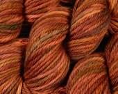 Hand Dyed Bulky Yarn - Bulky Weight Superwash Merino Wool Yarn - Spice - Knitting Yarn, Wool Yarn, Bulky Yarn, Autumn Colors