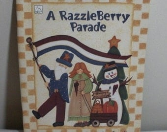 A Razzleberry Parade Painting Book - Janine Oppelt