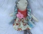 Beautiful Doll, ragdoll, soft doll