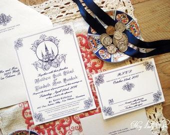 New Orleans Wedding Invitation New Orleans Invite Etsy
