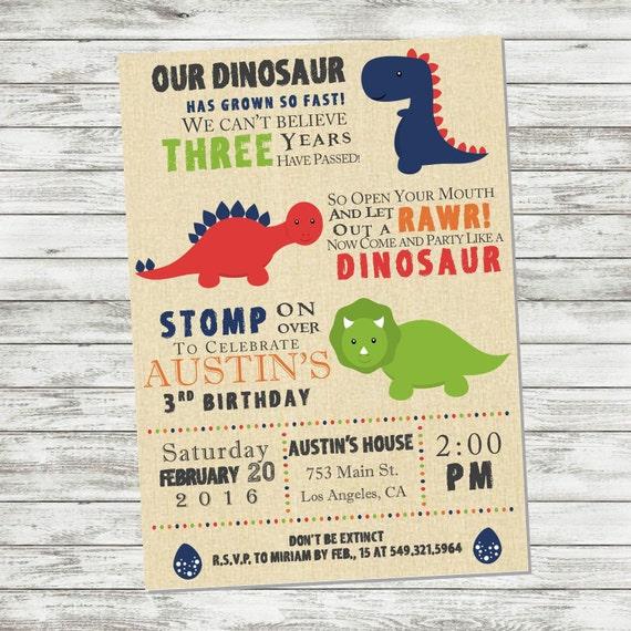 100 Dinosaur Invitation Wording HD Wallpapers My Sweet Home