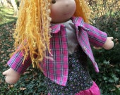 Custom Waldorf Doll 15 - 16 inch Waldorf inspired Noble Doll