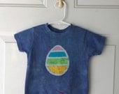Kids Easter Shirt (2T), Easter Egg Shirt, Toddler Easter Shirt, Blue Easter Egg Shirt, Boys Easter Shirt, Girls Easter Shirt
