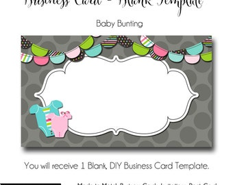 Baby business cards | Etsy