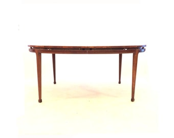 Vintage Dining Table In Wood