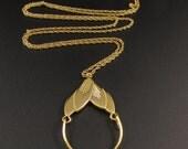 Monet Add a Charm Necklace, Monet Necklace, Gold Necklace, Mothers Necklace, Charm Necklace
