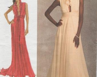 Vogue 1030 / Designer Sewing Pattern By Badgley Mischka / Evening Dress / Gown / Sizes 14 16 18 20 22