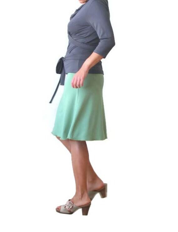 aline skirt classic skirt maxi skirt knee by