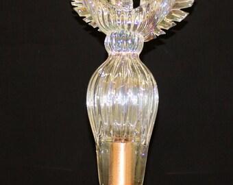 Hand Blown Glass Art Garden Art Sculpture Angel Oneil 6684