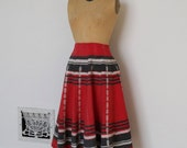 Vintage 1940s Skirt - 40s Ethnic Skirt - The Josephine