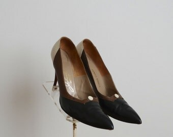 Vintage 1960s Shoes - 60s Stiletto Heels - The MaryAnn