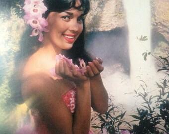 1960's Hawaiian Travel Promotional Record And Booklet Hilo Hawaiians Honeymoon In Hawaii Vinyl LP Hawaii Hosts Release Tiki Party Luau