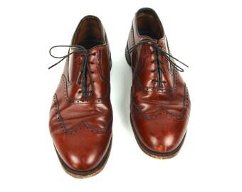 Allen Edmonds Dark Brown Oxford Wingtip // Size 12 D