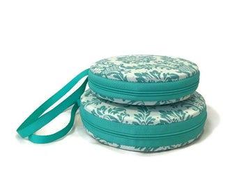 Fleur De Ls Macaron Wristlet Clutch Wallet Large Medium or Kit - The Camille