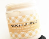 Ginger Souffle Lotion, Goat's Milk and Honey Hand and Body Lotion, Hand Cream, Body Cream, Foot Cream