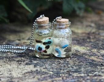 Eyeballs in a Jar Necklace