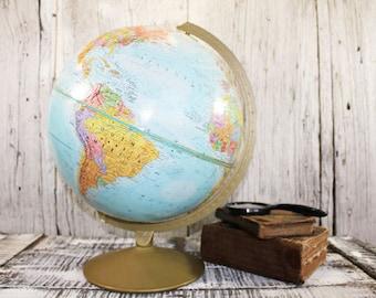 Vintage Globe, Repogle 12 inch globe