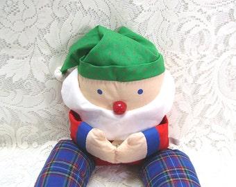 Santa - Door Draft Dodger - Draft Stopper - Draft Buster - Avon - Christmas Decor - Window Draft Dodger