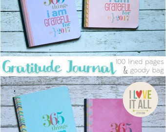 Gratitude Journal . 365 Things I Am Grateful For Notebook Diary . Composition Book Diary . Thankful Blessings Faith Mindfulness Book