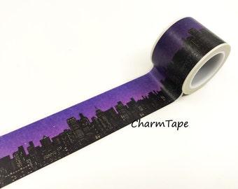 Nightscape Big Washi Tape(30mm x 5m) WT939