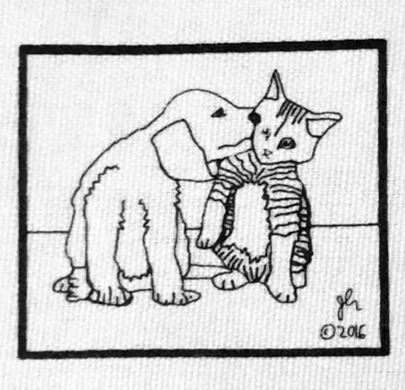 Punk Patches Punk Patch Vegan Vegetarian Cats Dogs Animal Liberation XVX DIY Crust Anarcho Punk Farm Animals Perception Small Cloth Patch
