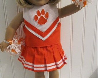 Design your own or pick you team American Girl Doll Cheerleading Outfit