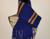 Harry Potter inspired book upperclass Ravenclaw scarf