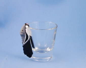 Hand Sculpted Giant Anteater 1.5 oz Shotglass