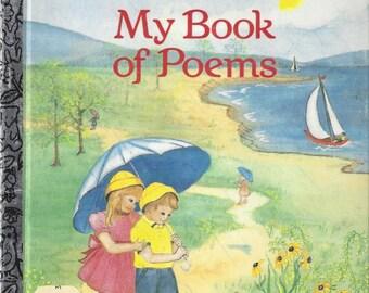 My Book of Poems Little Golden Book Vintage Children's Book, C1985
