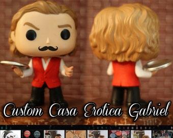 Supernatural Casa Erotica Gabriel - Custom Funko pop toy