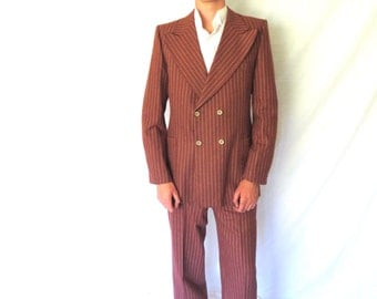 Double breasted suit | Etsy