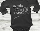 Long Sleeve Harry Potter Onesie, Harry Potter Baby, Harry Potter Baby Shirt, Long sleeve baby shirt, Harry Potter Baby Gift, Harry Potter