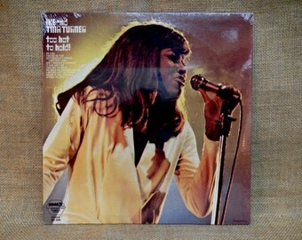SEALed...TINA TURNER - Too Hot to Hold -  Vintage Vinyl Record Album