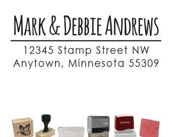 Custom Address Stamp - Return Address PR575