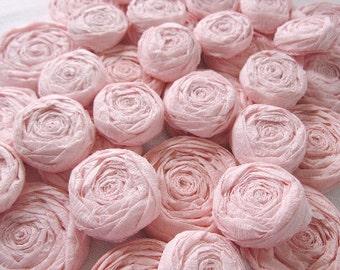 Paper flower roses - Set of 20 - You Choose Color!
