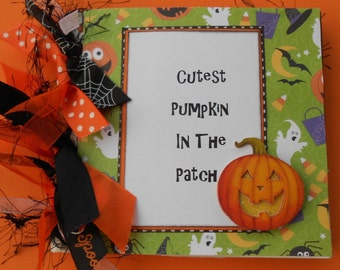 Halloween    premade scrapbook album    paper bag album
