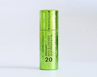 Basil & Lavender - Solid Perfume Stick - Travel Perfume - Travel Fragrance - basil, lavender, sage notes