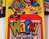 Wacky Packages Sticker Cards, 1990